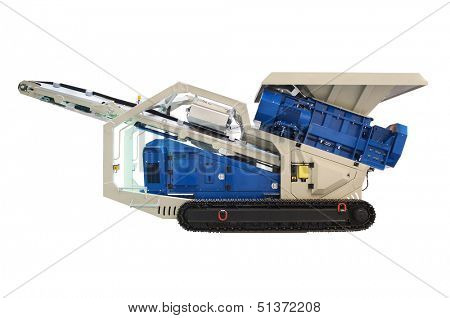 mobile jigger isolated under the white background