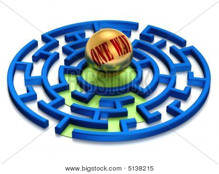 One Way Labyrinth.