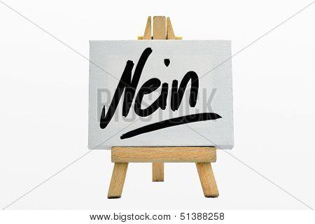 Nein / No