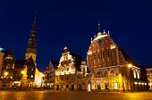 Town Hall Square, Riga, Latvia