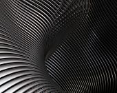 stock photo of titanium  - Creative brushed metal wallpaper - JPG