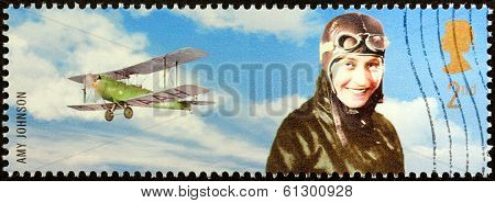 Amy Johnson Stamp