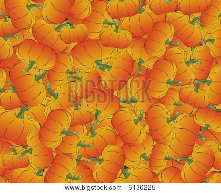 Pumpkin vector background