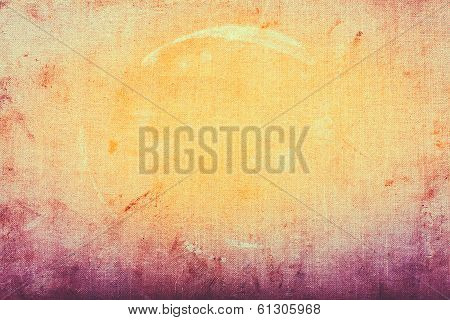 Fabric Texture, Old Colorful Background