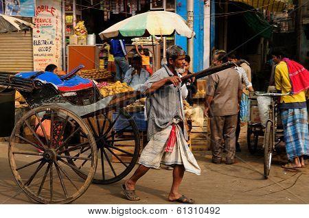 Rickshaw Driver, India