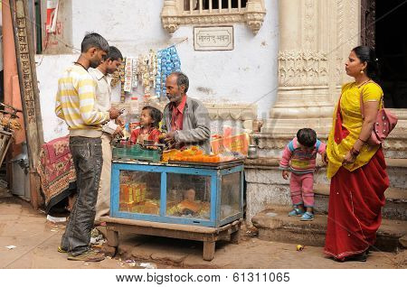 Street Life Of India