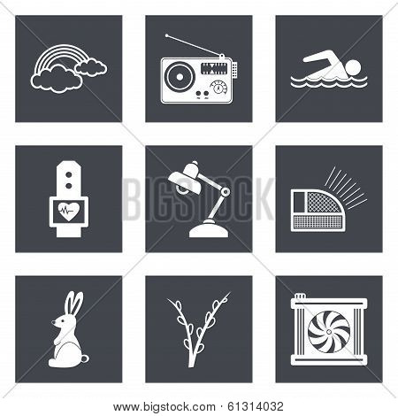 Icons for Web Design set 25