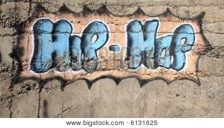 Graffiti Hip Hop Inscription