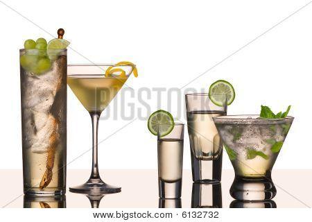 Five Vodka Cocktails