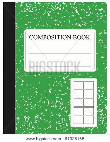 Green Composition Book