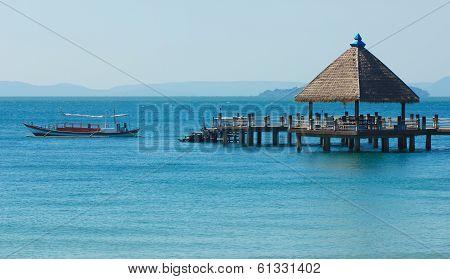Port in Sihanoukville