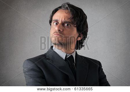 severe man