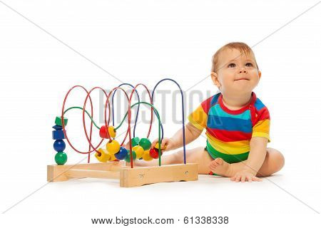 Baby Play With Developing Toys
