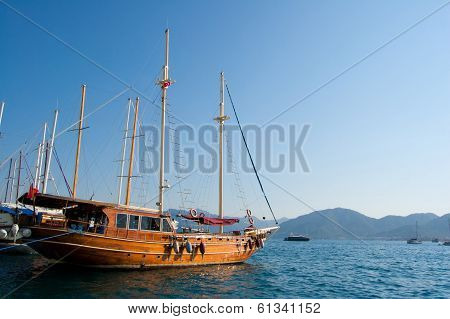 The Ship At Pier