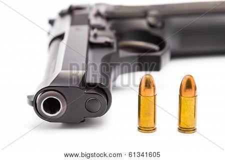 9 Mm. Handgun