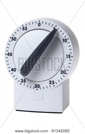 timer on white