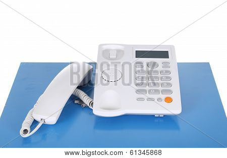 Telephone On A Table