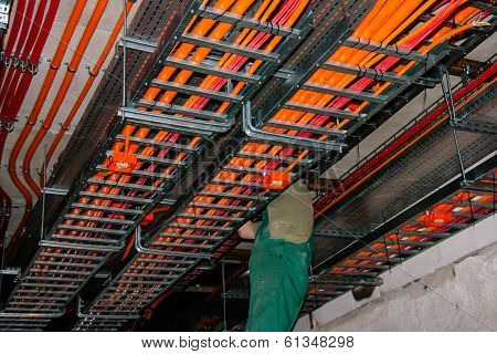 Cable route