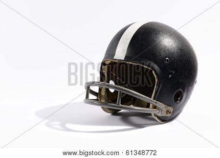 Old Football Helmet