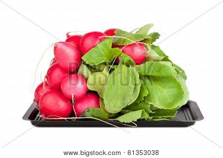Pile Of Garden Radish