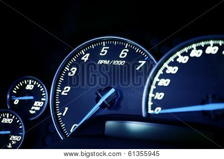 Vehicle Dash Instruments
