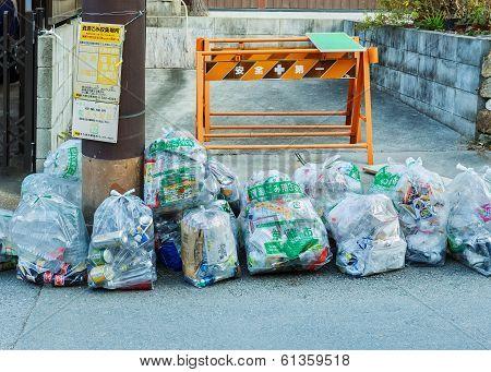 Garbage Management in Kyoto