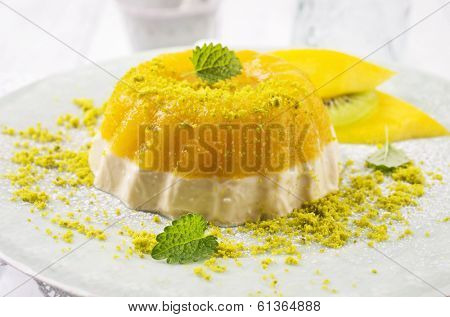 mango gelatin