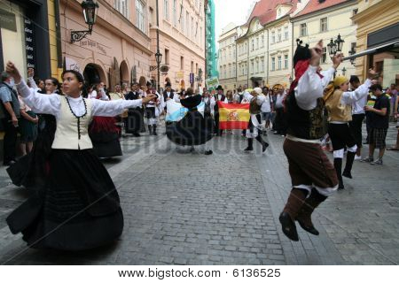 Folklore Festival in Prague