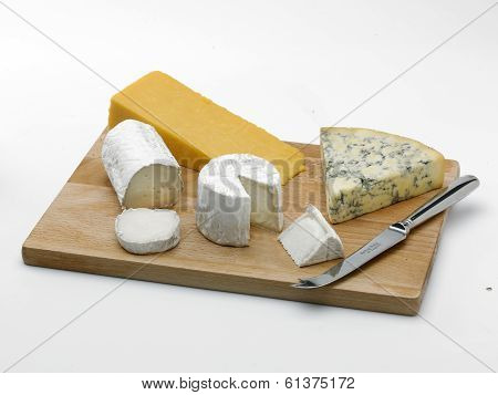Cheeseboard And Knife