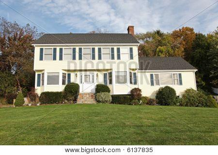 Casa de estilo colonial