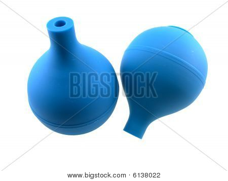 Two Rubber Enemas