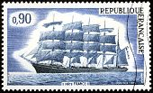 Sailing Ship Stamp