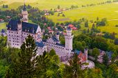 Neuschwanstein From Above