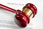 Mortgage Application Form And Gavel