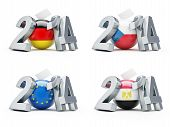 Elections In 2014 Germany, Czech Republic, European, Egypt