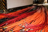 foto of retarded  - Test for halogen free and fire resistant cables  - JPG