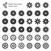 High Precision Gears Set