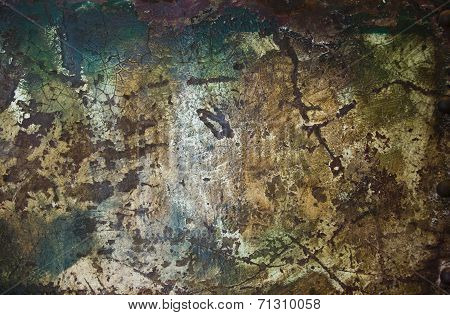 grunge metal rusty surface texture