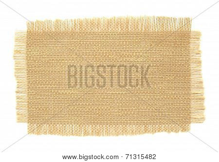 Fabric Samples Isolated On White Background