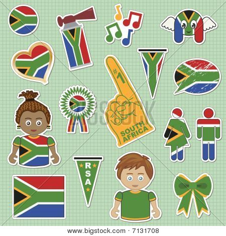south africa supporter stickers