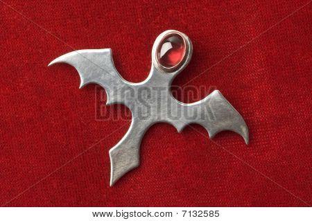 Gothic Ankh Pendant
