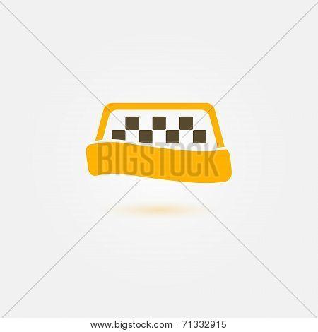 Taxi vector simple icon