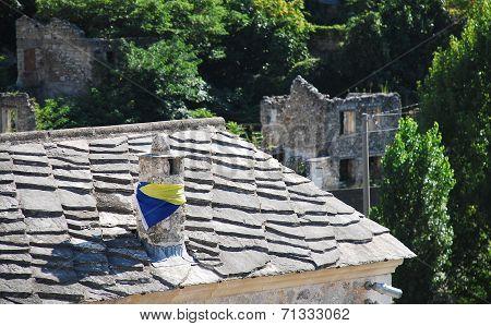 Chimney In Mostar