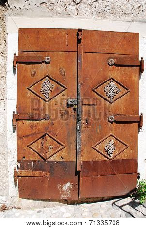 Metal Door In Mostar