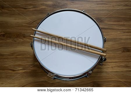 Drum And Drumsticks