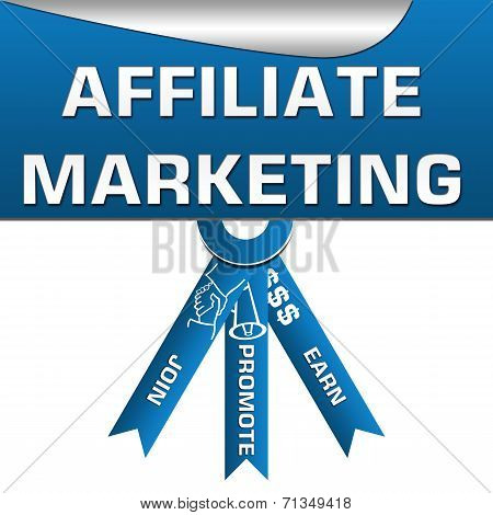 Affiliate Marketing Three Stripes Square