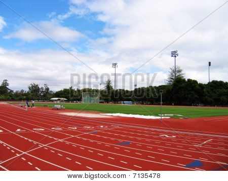 track field arena