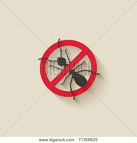 ant warning sign