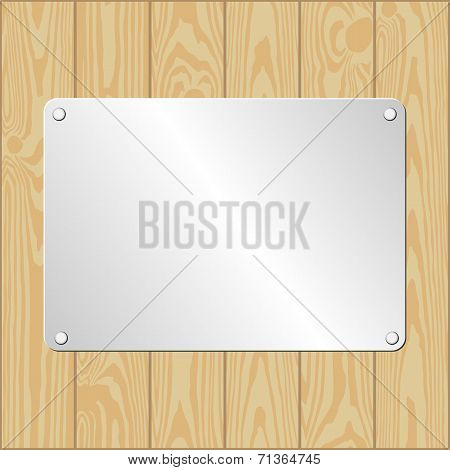 Metallic Plaque