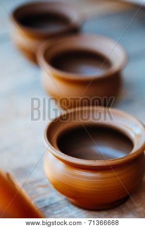 Clay Craft Pot Dishware